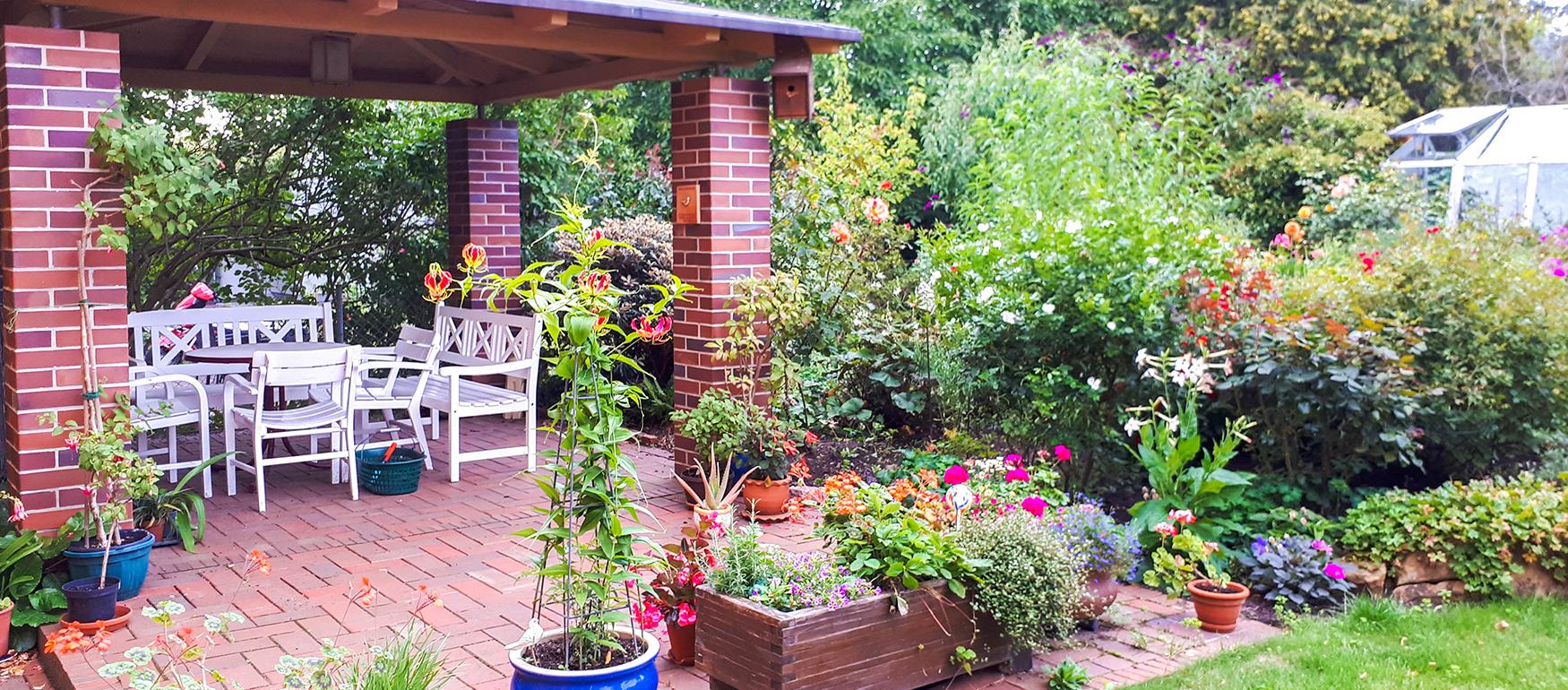 Gartenidylle genießen